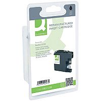 Brother LC-123BK Compatible Black Ink Cartridge LC123BK Q-Connect