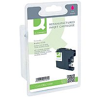 Brother LC-123M Compatible Magenta Ink Cartridge LC123M Q-Connect