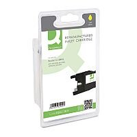 Brother LC1280XL Compatible Yellow High Yield Inkjet Cartridge Q-Connect
