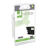 Brother LC985Y Compatible Yellow Ink Cartridge Q-Connect