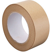 GoSecure Kraft Paper Tape 50mmx6m Pack of 6 RY10724