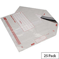 Go Secure Extra Strong Polythene Envelopes 460x430mm Pack of 25 PB08224