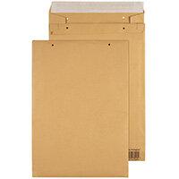 GoSecure Manilla B4 Gusset Pocket Envelope 140gsm Pack of 100 REPDB4