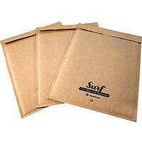 GoSecure Size D1 Surf Kraft Paper Mailer 180mmx265mm Pack of 200 SURFD1K