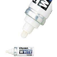 Pentel White Marker Bullet Broad BCX100W