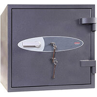 Phoenix Planet HS6071K 80L Security Safe With Key Lock Grey