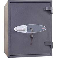 Phoenix Planet HS6073K 129L Security Safe With Key Lock Grey
