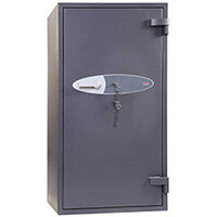 Phoenix Planet HS6074K 190L Security Safe With Key Lock Grey