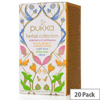 Pukka Herbal Heroes Tea Bags Organic Collection Pack of 20 P5042