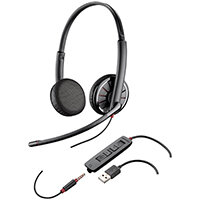 Plantronics Blackwire C325-Monaural USB and 3.5mm 204446-01