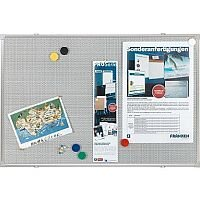 Franken Pin & Magnetic Board Grey W120 x H90cm