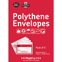 Polythene Envelopes 240 x 320