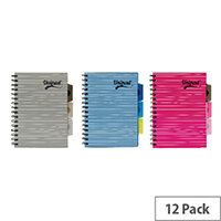 Pukka Unipad Project Book A5 200 Pages Pack of 12 6201-UNI