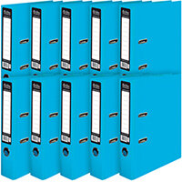 Pukka Brights Lever Arch File A4 Blue Pack of 10 BR-7761