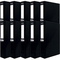Pukka Brights Box File Foolscap Black Pack of 10 BR-7773