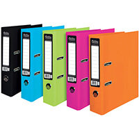 Pukka Pad Brights Lever Arch File Assorted Pack of 10 BR-8879