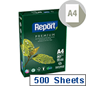 Report A4 80gsm White Premium Copier Paper Ream of 500 Sheets
