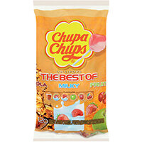 Chupa Chups Fruit Refill Bag 20 Percent Extra Pack of 120 8302971