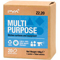PVA Multipurpose Cleaner Sachets Pack of 20 PVAB2-20