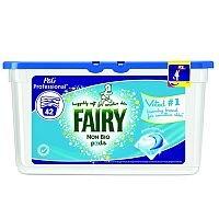Fairy Non-Bio Washing Tub Liquid Tabs (126 Capsules)