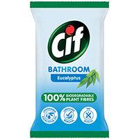 Cif Bio Bath Wipes 80 Sheets Pack of 6 C001710