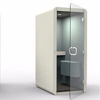 Penelope Standard Acoustic Telephone Booth with Perch