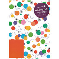 Regent Packaged Wrap Bright Spots Pack of 12 F332