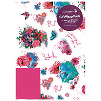 Regent Packaged Wrap Flowers Pack of 12 F367