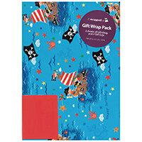 Regent Packaged Wrap Pirates Pack of 12 F372