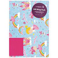 Regent Packaged Wrap Fairy Castle Pack of 12 F362