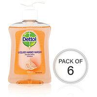 Dettol Moisture Hand Wash 250ml Pack Of 6 74992