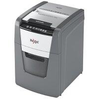 Rexel Optimum AutoFeed+ 100X Automatic Cross Cut Paper Shredder Black 2020100X