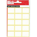 Blick White Labels 19x25mm (2100 Labels)