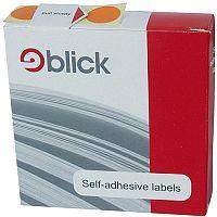 Blick Dispenser Self-Adhesive Label 19mm Blue Pack of 1280 RS011453