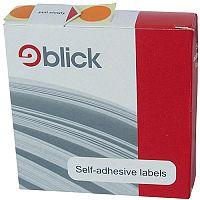 Blick Dispenser Self-Adhesive Label 19mm Orange Pack of 1280 RS011859