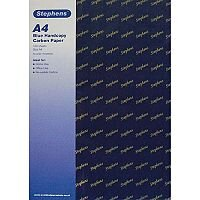 Stephens Hand Carbon Paper Blue 39g 100 Sheets