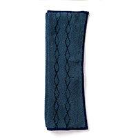 Rubbermaid 17.5 inch General Purpose Microfiber Mop Pad Blue