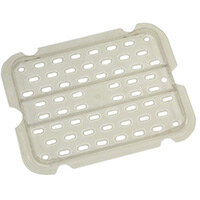 Rubbermaid Products 1/2 Size Cold Food Pan Drain Tray Clear