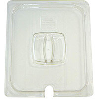 Rubbermaid 1/2 Size Gastronorm Notched Hard Cover For Cold Food Clear