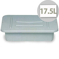 Rubbermaid Utility Box 17.5L Grey