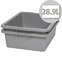 Rubbermaid Utility Box 28.9L Grey