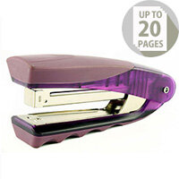 Rexel Centor Stand Up Stapler Translucent Purple 2101014