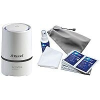 Rexel Activita Air Cleaner With FOC AF Hot Desk Cleaning Kit RX810186