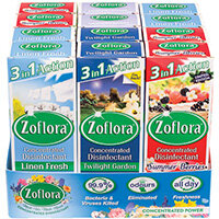 Zoflora 3-in-1 Concentrated Disinfectant 120ml Pack of 12 00680