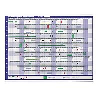 Sasco Magnetic Perpetual Year Planner 2400001 915 x 610mm – Accessory Kit, Magnetic Colour Shadings, Magnetic Self-Stick Date Strips, Wall-Mountable (2400001)