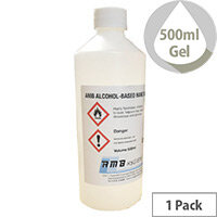 AMB Alcohol Based HAND SANITISING Gel 500ml Bottle