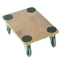 VFM Brown Economy Wooden Dolly 680x450x115mm