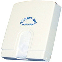 Kleenfem White Paper Sanitary Bags Pack of 65 356974