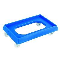 VFM Blue Plastic Dolly For 600x400mm Containers
