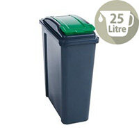 Vfm Recycling Waste Bin 25L Green